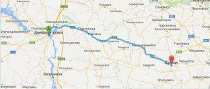 Поездки в Донецк