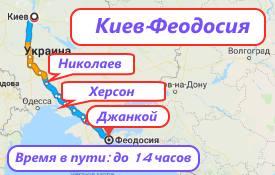 Киев-Феодосия