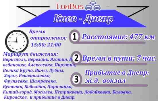 Автобус Киев-Днеп