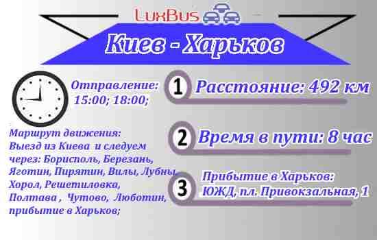 Автобус Киев-Харьков